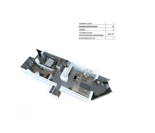 Mieszkanie trzypokojowe na sprzedaż Bydgoszcz, Szwederowo, Piękna  69m2 Foto 4