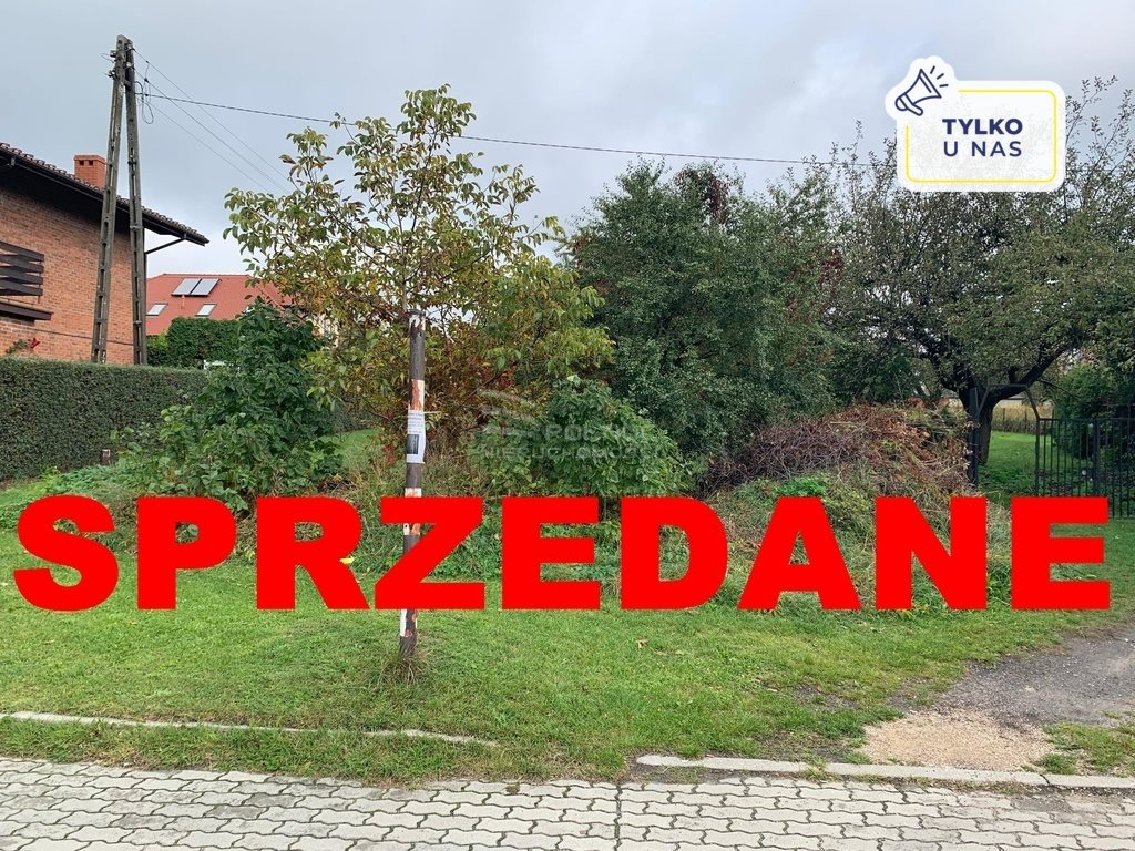 Działka budowlana na sprzedaż Końskie, Adama Mickiewicza  969m2 Foto 1