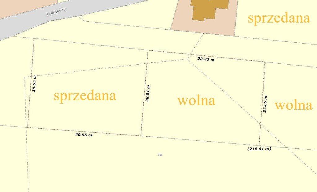 Działka budowlana na sprzedaż Strzegomiany, Letniskowa  2000m2 Foto 3