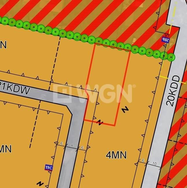 Działka budowlana na sprzedaż Ostrów Wielkopolski, Okolice ulicy Południowej, Okolice ulicy Południowej  1195m2 Foto 1