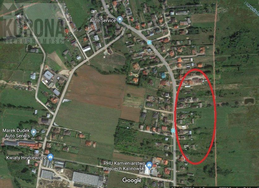 Działka budowlana na sprzedaż Hryniewicze  5400m2 Foto 2