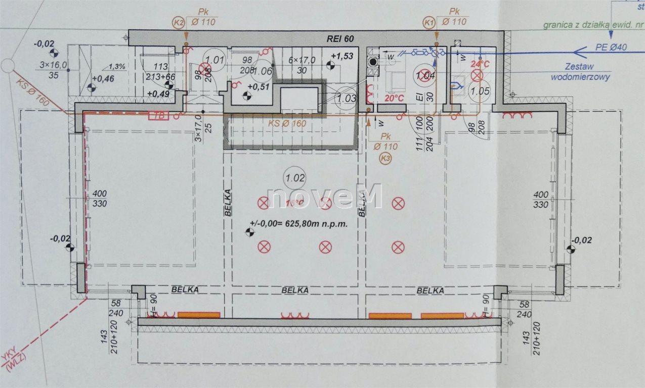 Działka budowlana na sprzedaż Szaflary  2463m2 Foto 5