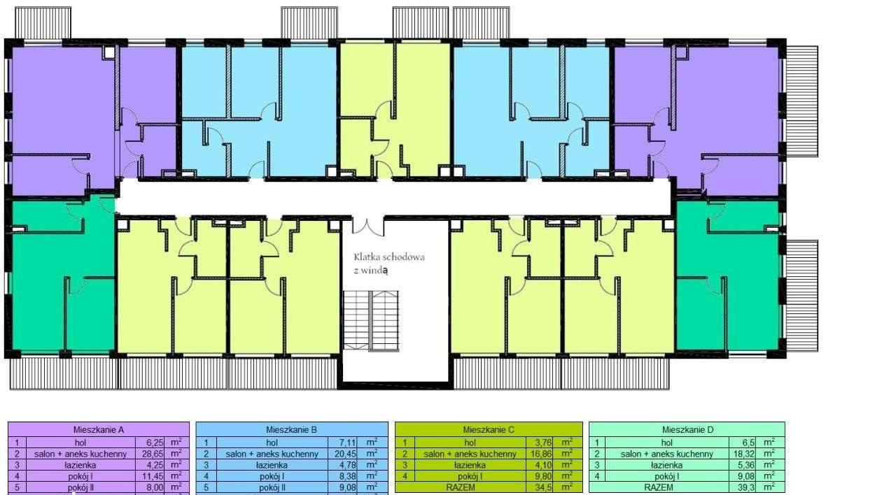 Mieszkanie dwupokojowe na sprzedaż Czechowice-Dziedzice, Legionów 124a  40m2 Foto 3