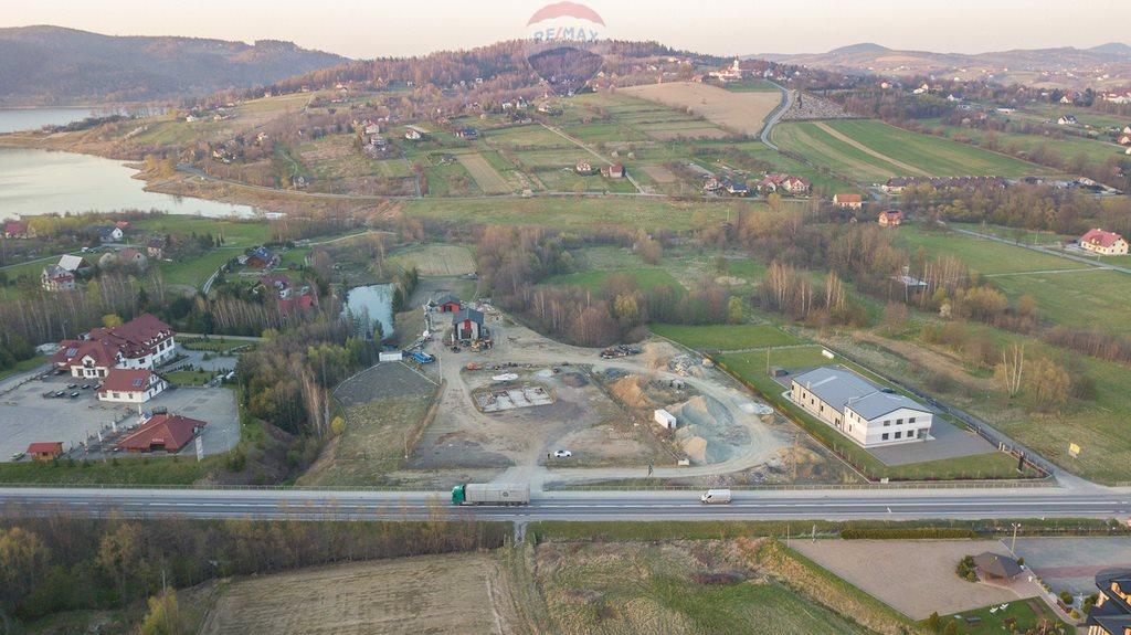 Działka komercyjna pod dzierżawę Mucharz  1000m2 Foto 4