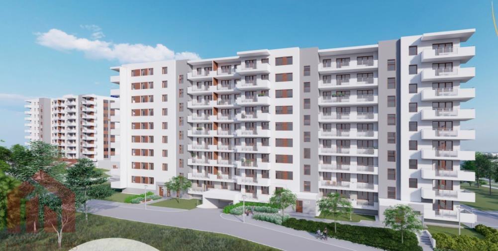 Mieszkanie trzypokojowe na sprzedaż Rzeszów, Przybyszówka, Błogosławionej Karoliny  56m2 Foto 1