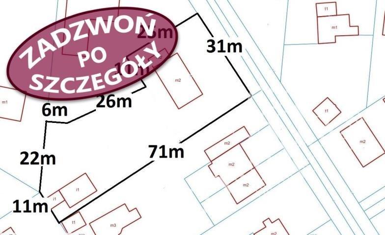 Działka budowlana na sprzedaż Warszawa, Wawer, Radość, Izbicka  1765m2 Foto 1