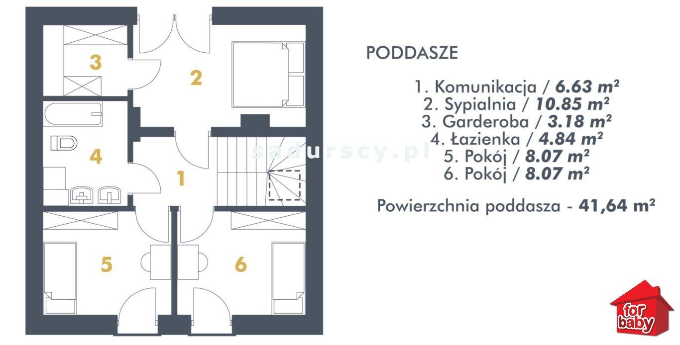Dom na sprzedaż Zabierzów, Kobylany, Kobylany, Floriana  102m2 Foto 4