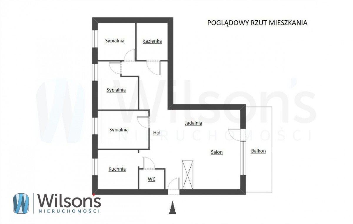 Mieszkanie czteropokojowe  na sprzedaż Warszawa, Wawer Anin  97m2 Foto 3