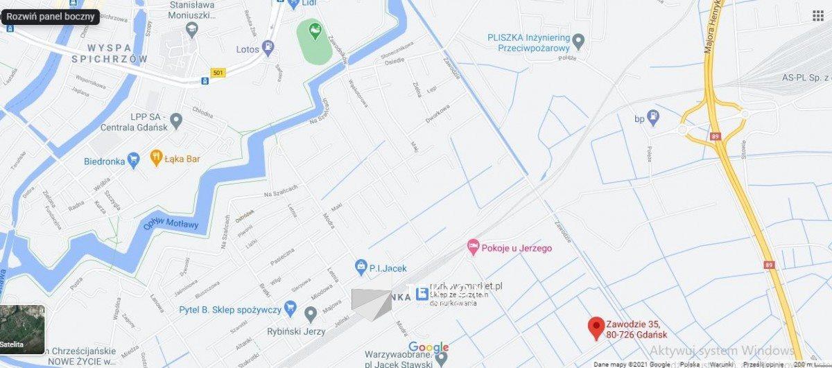 Lokal użytkowy na wynajem Gdańsk, Olszynka, Zawodzie  100m2 Foto 1