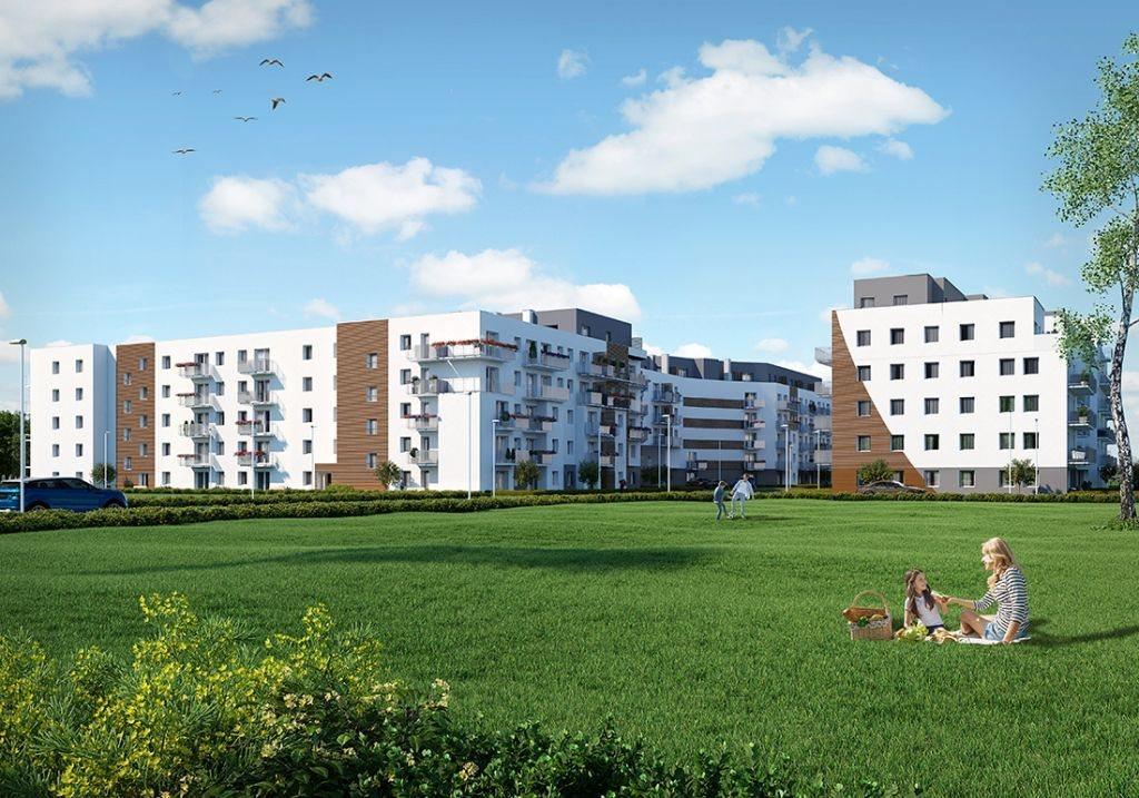 Mieszkanie dwupokojowe na sprzedaż Poznań, Chartowo, Chartowo, abp. Walentego Dymka  42m2 Foto 4