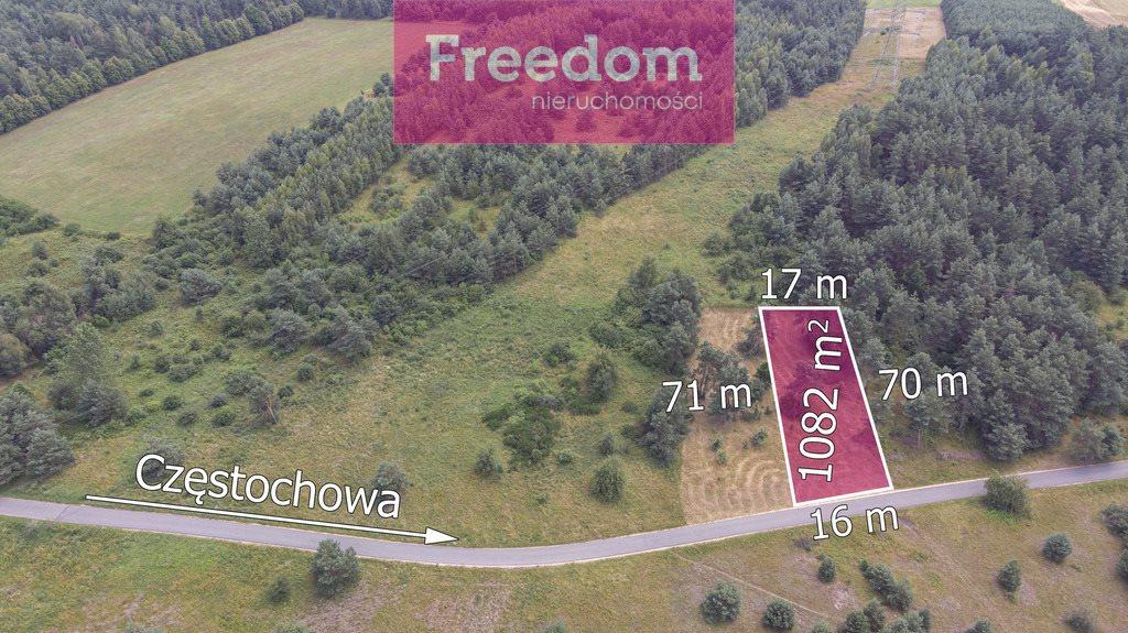 Działka budowlana na sprzedaż Kłobukowice  1050m2 Foto 2