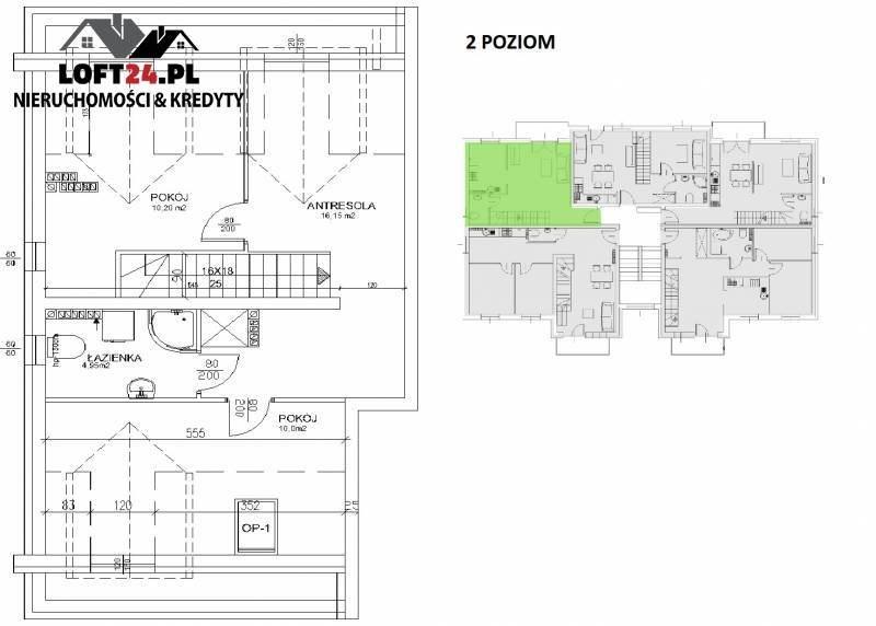 Mieszkanie trzypokojowe na sprzedaż Lubin, os. Polne, Kochanowskiego  77m2 Foto 4