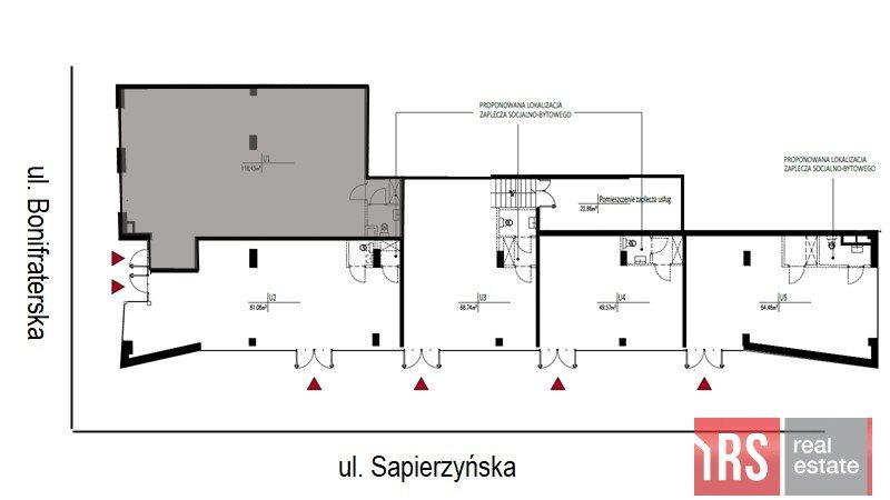 Lokal użytkowy na sprzedaż Warszawa, Śródmieście, Bonifraterska  118m2 Foto 1