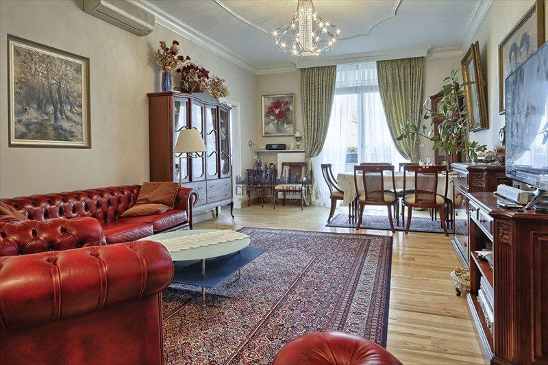 Luksusowe mieszkanie czteropokojowe  na sprzedaż Warszawa, Mokotów, Ludowa  121m2 Foto 1