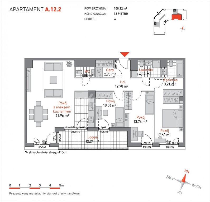 Mieszkanie czteropokojowe  na sprzedaż Gdańsk, Przymorze, Czarny Dwór  108m2 Foto 1