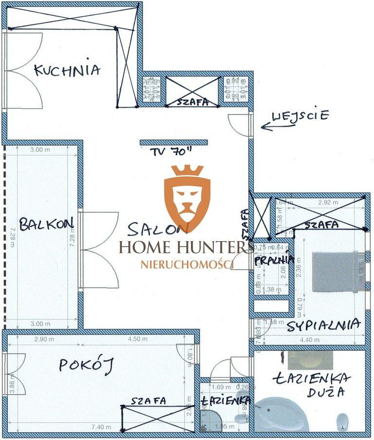 Mieszkanie trzypokojowe na sprzedaż Warszawa, Ochota, Zadumana  90m2 Foto 11