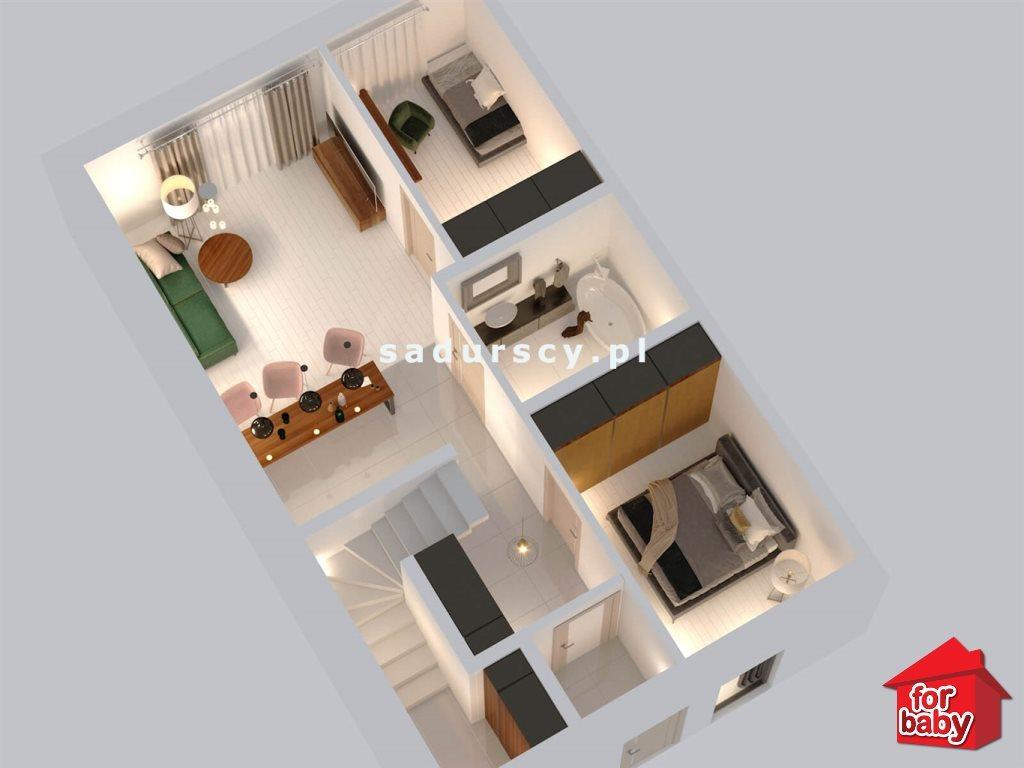 Mieszkanie trzypokojowe na sprzedaż Chorągwica  54m2 Foto 4