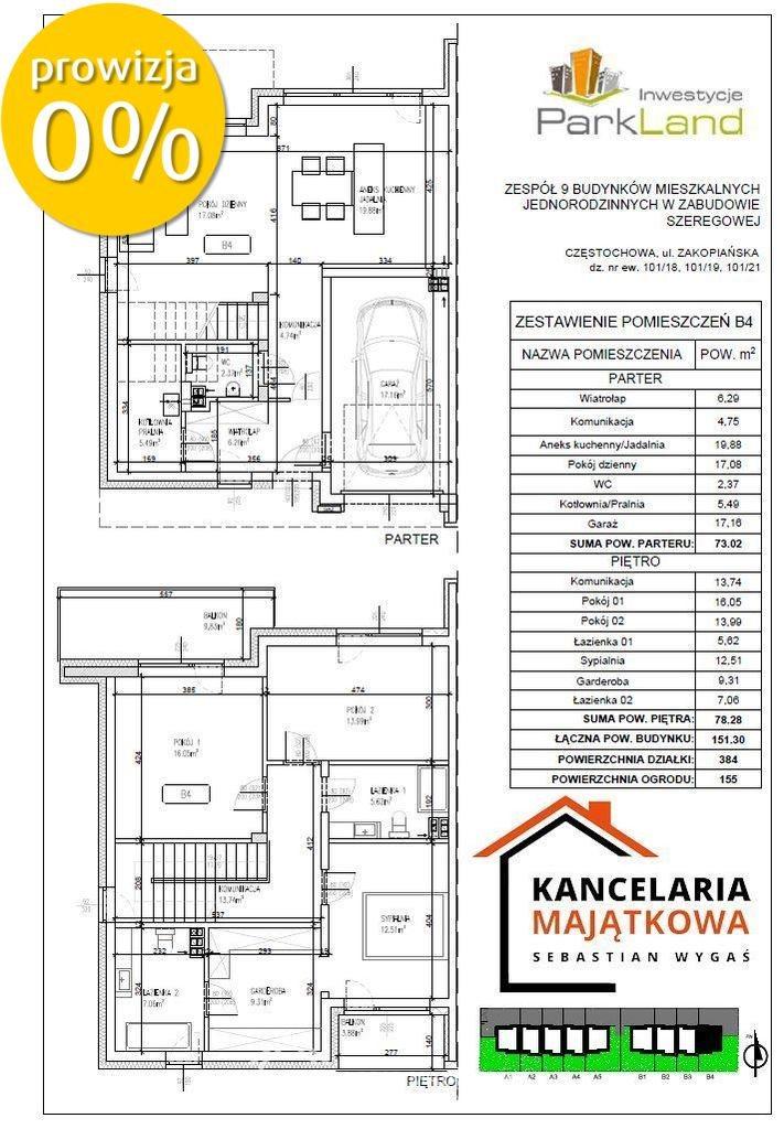 Dom na sprzedaż Częstochowa, Grabówka, Zakopiańska  151m2 Foto 2