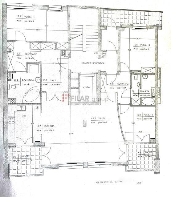 Mieszkanie czteropokojowe  na sprzedaż Warszawa, Śródmieście, Centrum, Szucha Jana Chrystiana al.  146m2 Foto 13