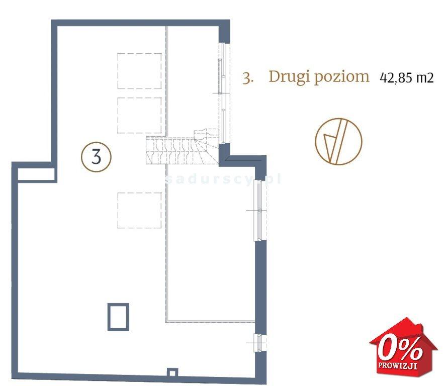Mieszkanie dwupokojowe na sprzedaż Kraków, Stare Miasto, Kleparz, Sławkowska - okolice  87m2 Foto 4
