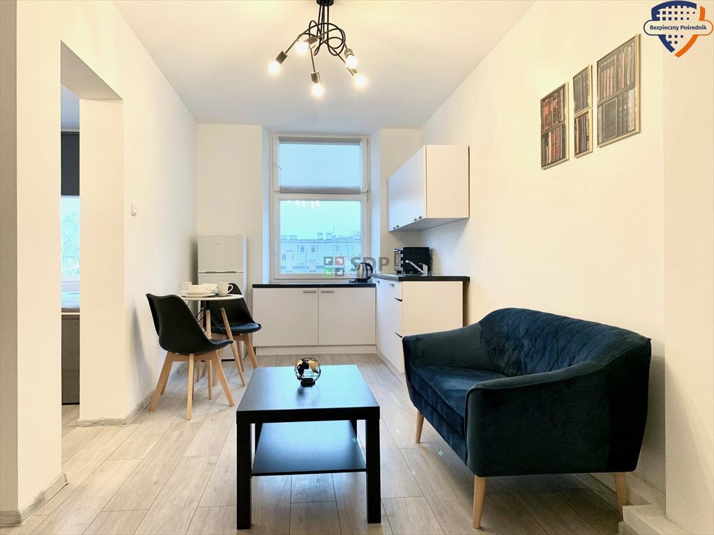 Mieszkanie dwupokojowe na sprzedaż Wrocław, Śródmieście, Nadodrze, Struga Andrzeja  33m2 Foto 1