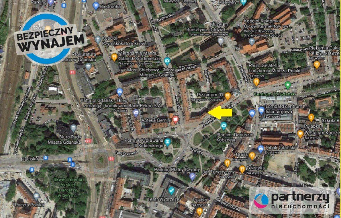 Lokal użytkowy na wynajem Gdańsk, Stare Miasto, Podwale Staromiejskie  38m2 Foto 1