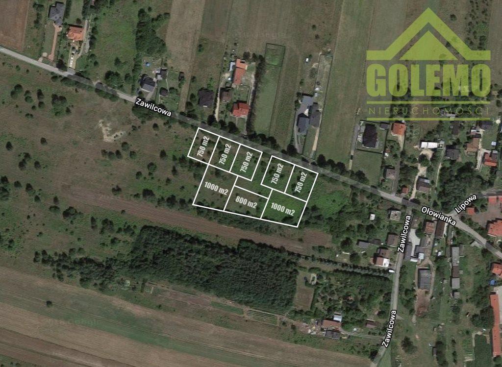 Działka budowlana na sprzedaż Częstochowa, Zawilcowa  750m2 Foto 2