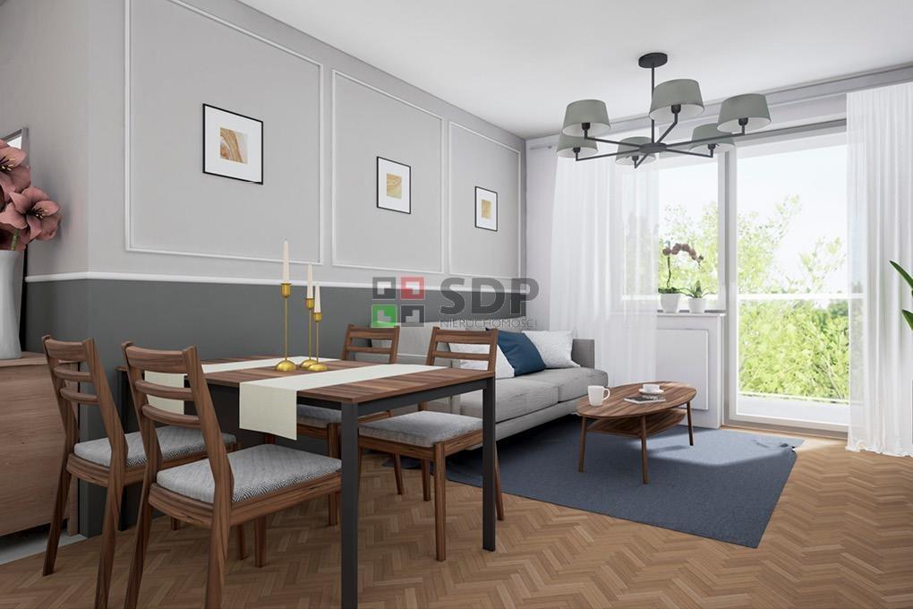 Mieszkanie dwupokojowe na sprzedaż Wrocław, Krzyki, Jagodno  52m2 Foto 3
