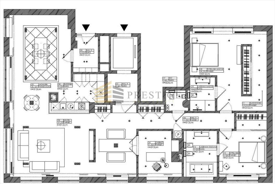 Mieszkanie czteropokojowe  na wynajem Warszawa, Śródmieście, Powiśle, Tamka  131m2 Foto 6