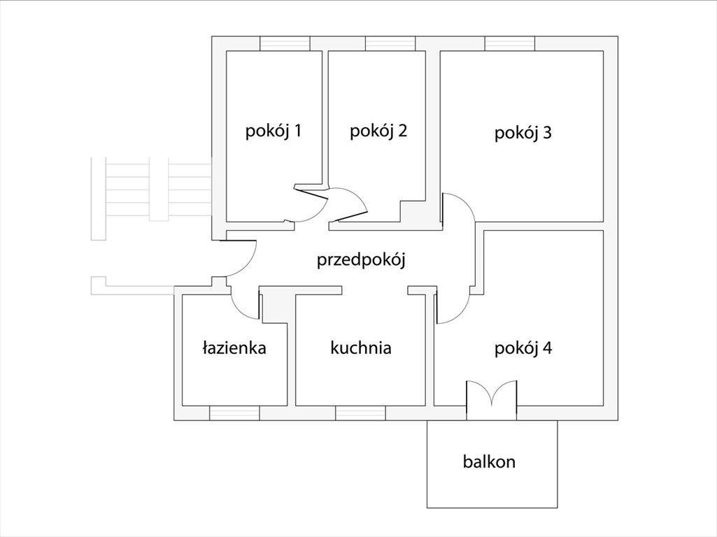 Mieszkanie czteropokojowe  na sprzedaż Toruń, Toruń  74m2 Foto 10