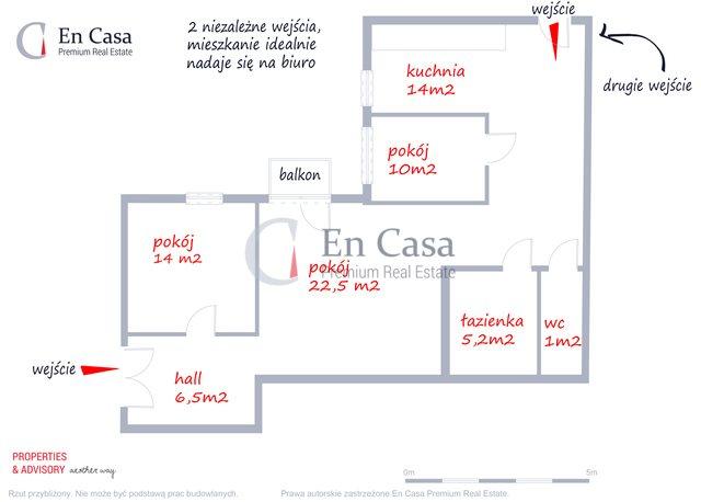 Mieszkanie trzypokojowe na wynajem Warszawa, Śródmieście, Okólnik  80m2 Foto 2