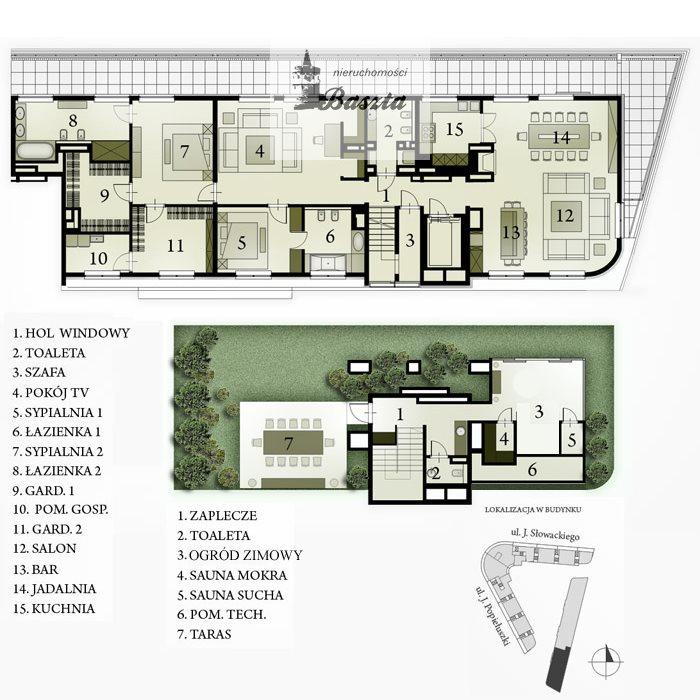 Luksusowe mieszkanie na sprzedaż Warszawa, Żoliborz, Hanki Czaki  262m2 Foto 8