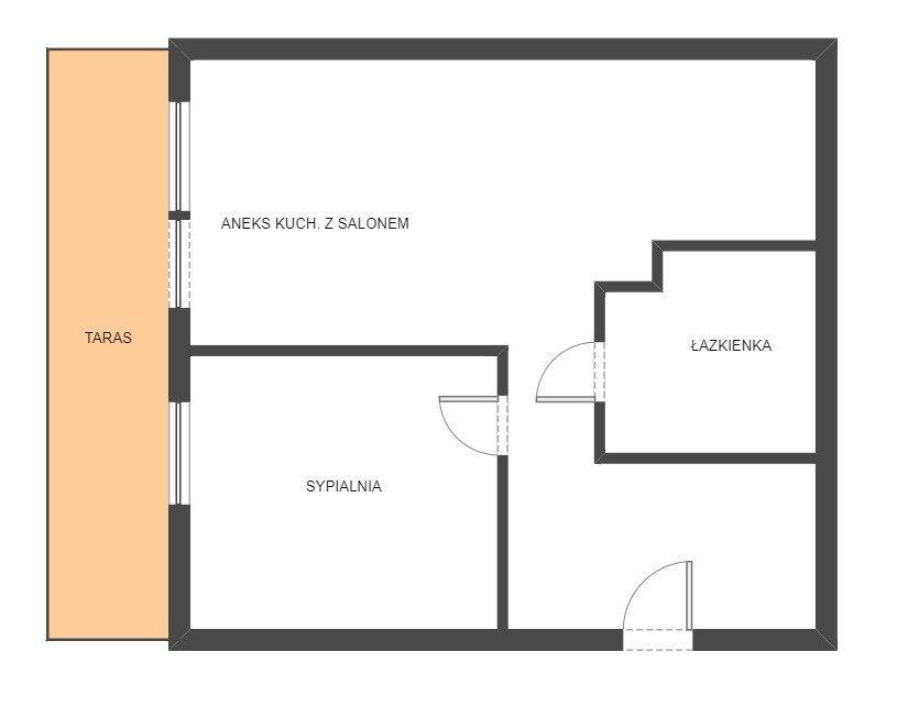 Mieszkanie dwupokojowe na sprzedaż Białystok, Dojlidy  40m2 Foto 6