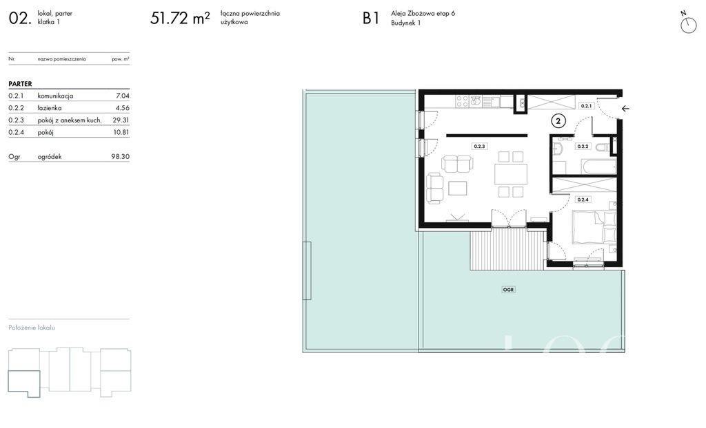 Mieszkanie dwupokojowe na sprzedaż Wieliczka, Zbożowa  52m2 Foto 10