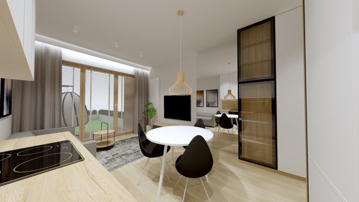 Mieszkanie dwupokojowe na sprzedaż Kielce, Uroczysko, Klonowa  39m2 Foto 3