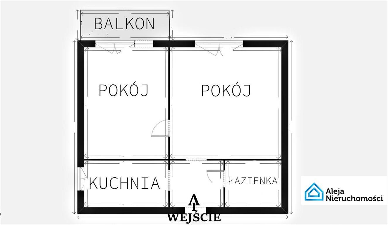 Mieszkanie dwupokojowe na wynajem Częstochowa, T. Zana  36m2 Foto 13