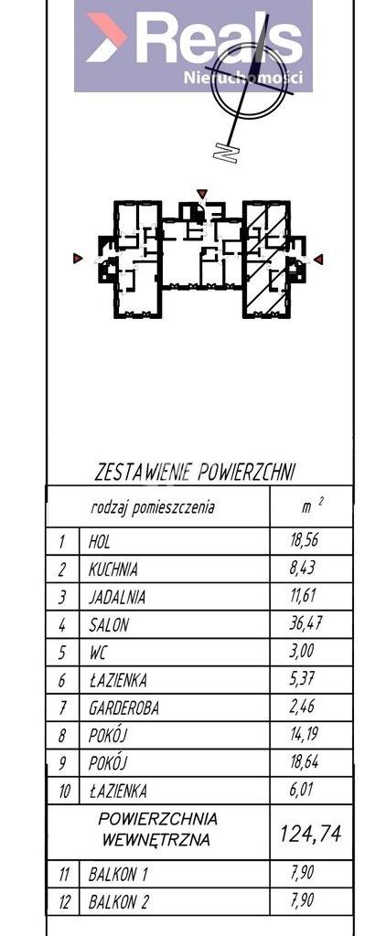 Mieszkanie czteropokojowe  na sprzedaż Warszawa, Wilanów, Zawady, Ruczaj  125m2 Foto 4