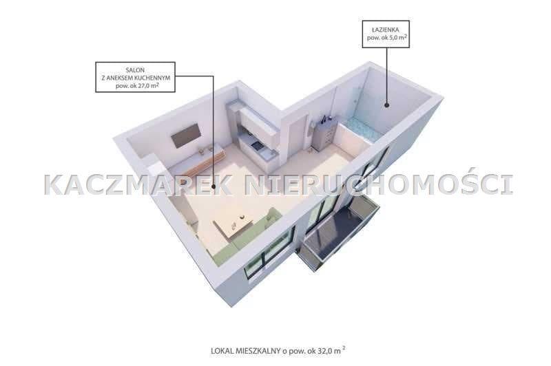 Mieszkanie na sprzedaż Bieruń  55m2 Foto 3
