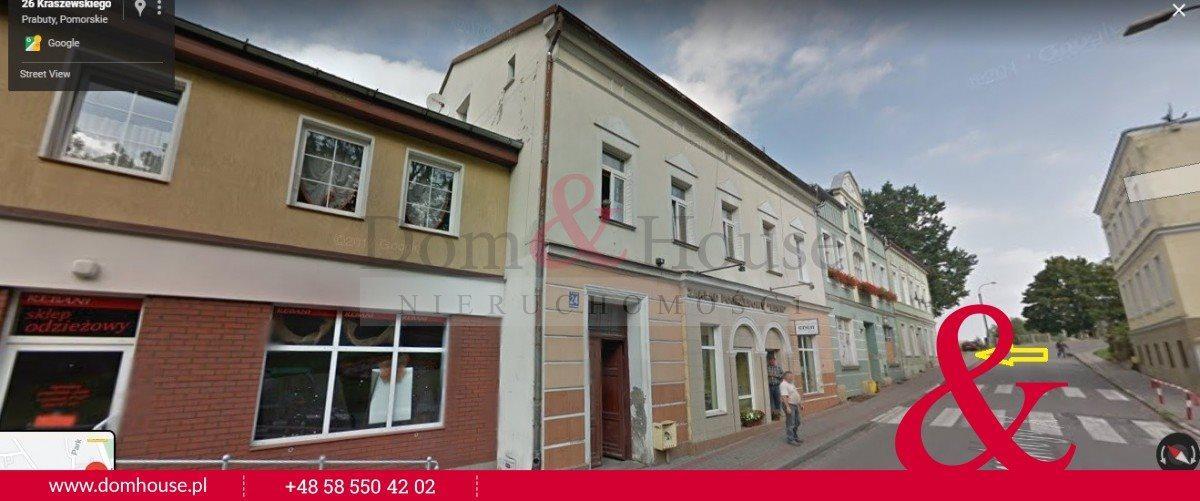 Działka budowlana na sprzedaż Prabuty, Józefa Ignacego Kraszewskiego  168m2 Foto 2
