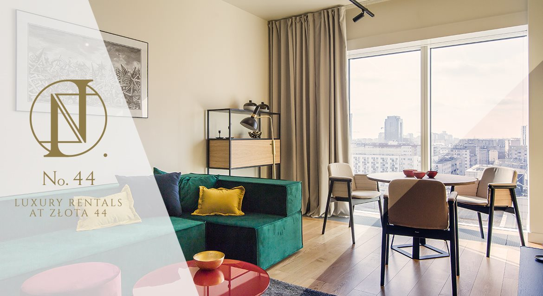Luksusowe mieszkanie dwupokojowe na wynajem Warszawa, Śródmieście, Złota 44  62m2 Foto 1