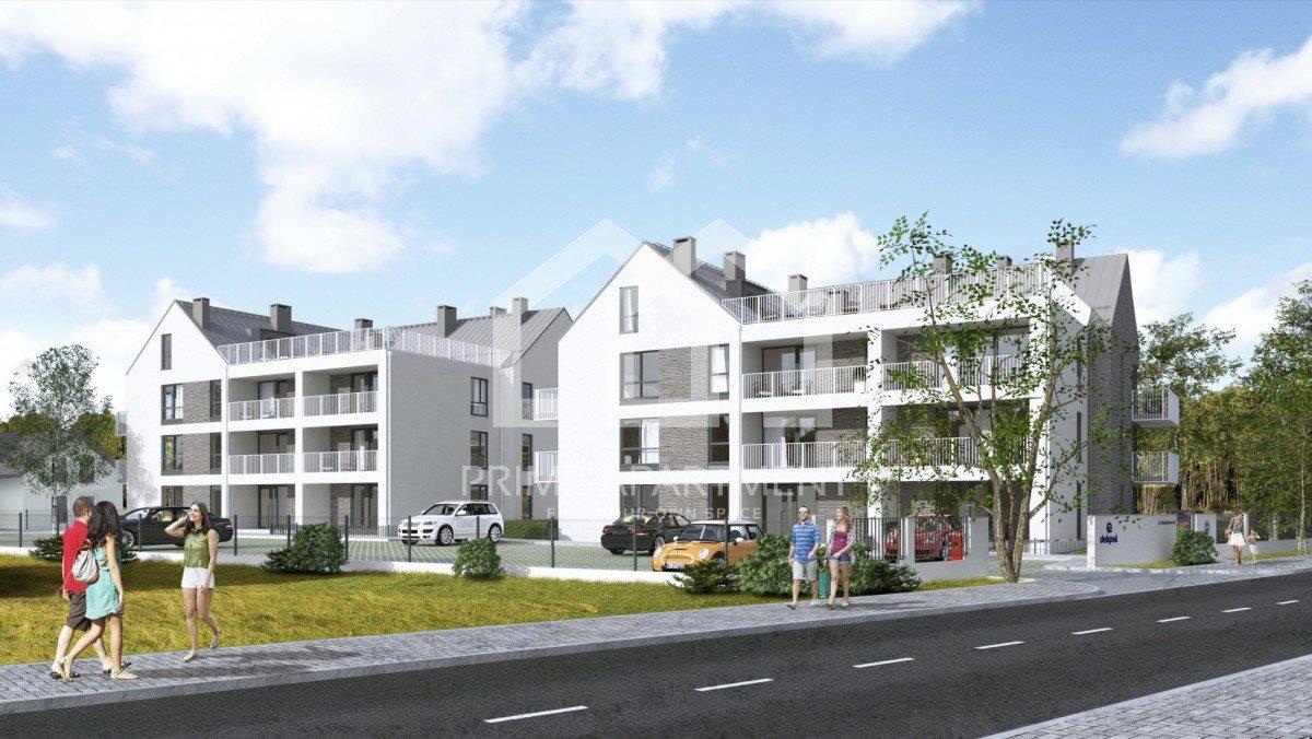 Mieszkanie dwupokojowe na sprzedaż Gdańsk, Sobieszewko, Nadwiślańska  42m2 Foto 1