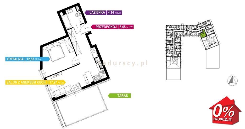 Mieszkanie dwupokojowe na sprzedaż Kraków, Prądnik Biały, Prądnik Biały, Kazimierza Wyki - okolice  41m2 Foto 6