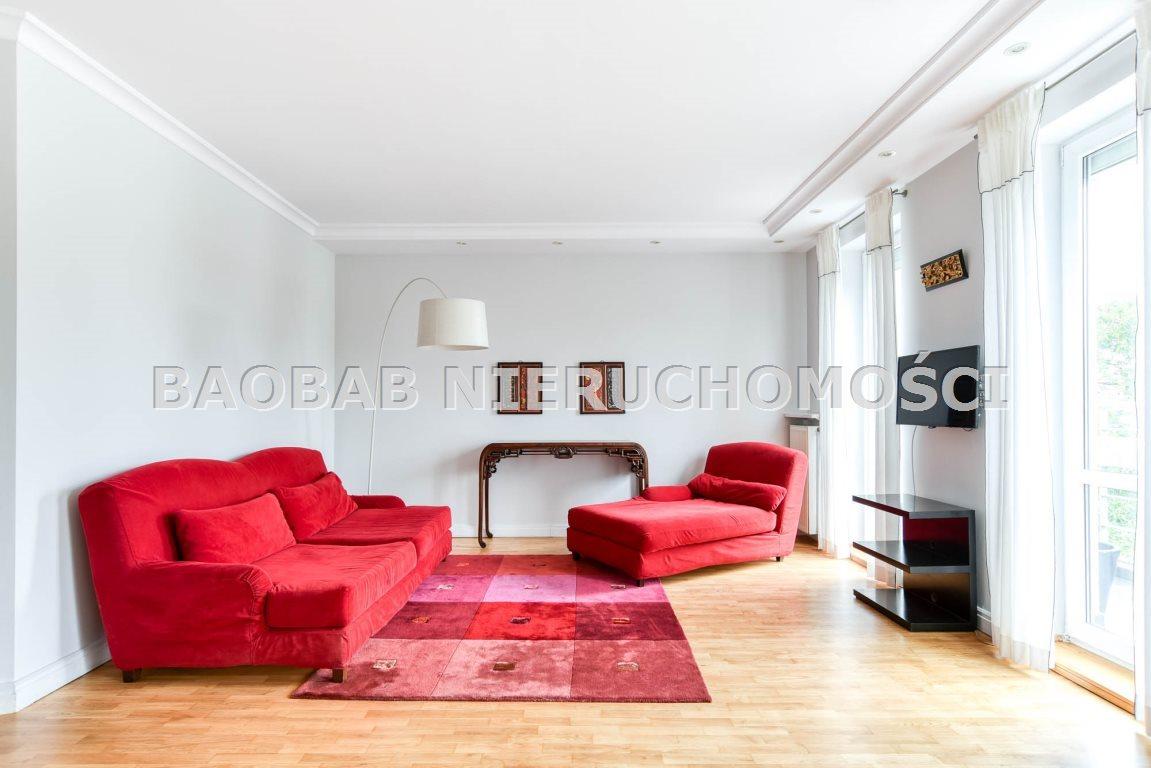 Mieszkanie czteropokojowe  na wynajem Warszawa, Praga-Południe, Saska Kępa, Saska  110m2 Foto 7