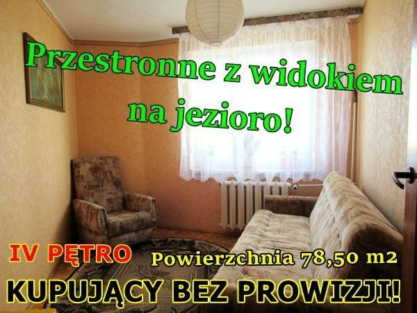 Mieszkanie czteropokojowe  na sprzedaż Ełk, Osiedle Jeziorna  79m2 Foto 1