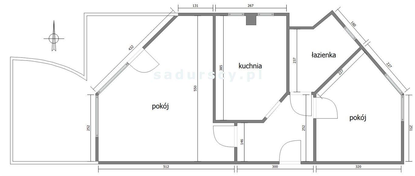 Mieszkanie dwupokojowe na sprzedaż Kraków, Bronowice, Bronowice Małe, Balicka  51m2 Foto 3