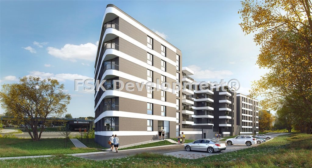 Mieszkanie dwupokojowe na sprzedaż Kraków, Prądnik Czerwony, Dobrego Pasterza  46m2 Foto 1