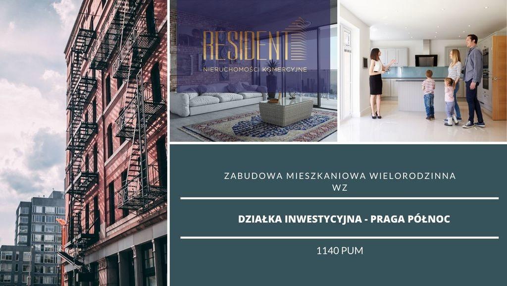 Działka budowlana na sprzedaż Warszawa, Praga-Północ  600m2 Foto 1