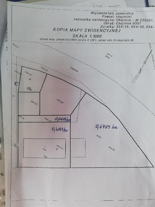 Lokal użytkowy na sprzedaż Chojnice, Gdańska  1650m2 Foto 2