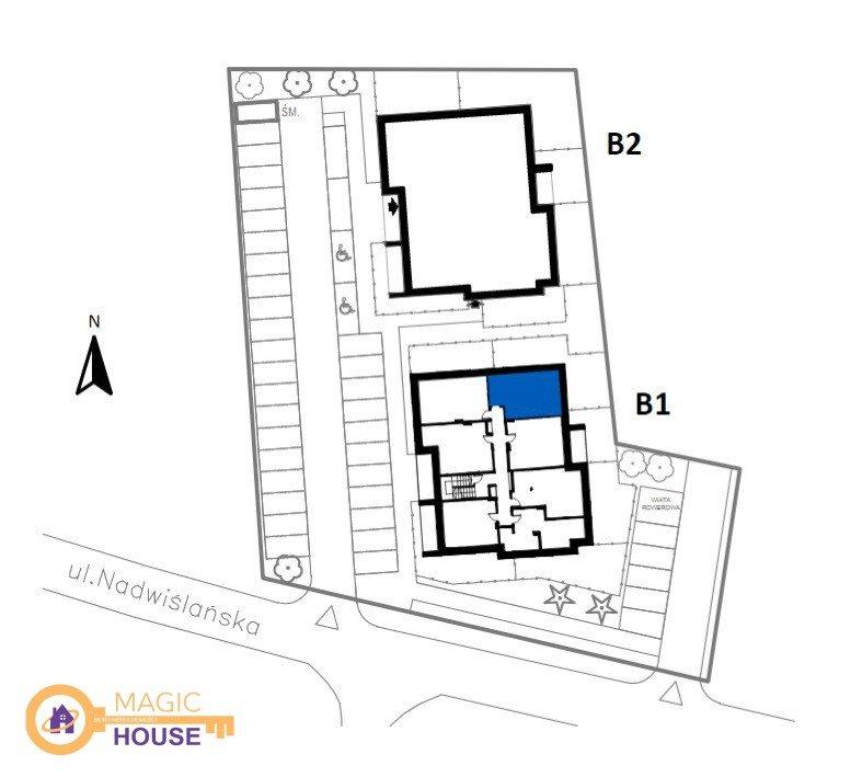 Mieszkanie dwupokojowe na sprzedaż Gdańsk, Sobieszewo, Nadwiślańska  43m2 Foto 2