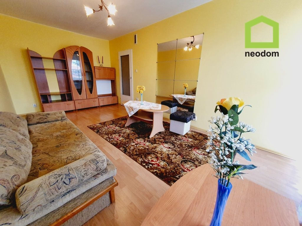 Mieszkanie dwupokojowe na wynajem Kielce, Szydłówek  50m2 Foto 1